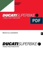 Ducati 749S User Manual