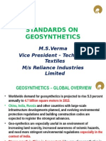 Standards on Geosynthetics