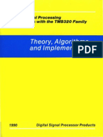 Digital Signal Processing Applications With the TMS320 Family Vol 3 1990