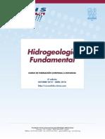 "5º Curso a distancia ""Hidrogeología fundamental"""