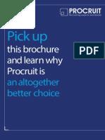 Procruit Brochure