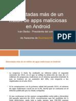 Detectadas Más de 1 Millón de Apps Maliciosas en Android