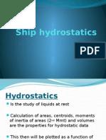 Ship Hydrostatics (1)