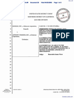 Google, Inc. v. Affinity Engines, Inc. - Document No. 29