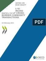 Public Comments Action 10 Cross Border Commodity Transactions