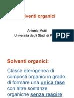 Solventi organici