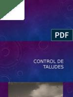 Capacitacion -Control de Taludes 1