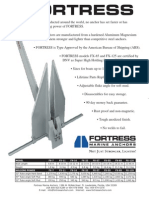 Fortress Spec Sheet Metric