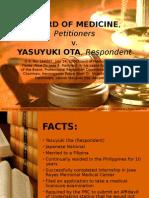 BOARD OF MEDICINE v Yasuyuki.pptx