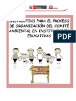 Instructivo Comité Ambiental