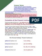 3 Present Continuous Tense