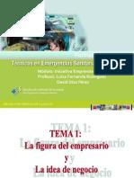 Temas de Creación de Empresas Para TES Tema 1