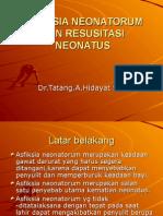 Resusitasi Neonatus dr. tatang