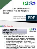 003 Inventori Minat Kerjaya