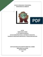 Proyecto Transversal Defensores Del Ambiente 2014