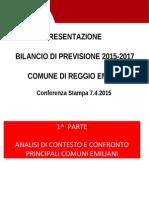 Bilancio Di Previstione 2015 - Presentazione Conf Stampa (7.4.15)Mod
