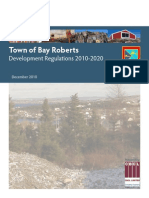 Bay Roberts Development Regulations 2010-2020