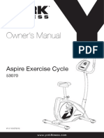 53070 AspireExerciseCycle Manual 1