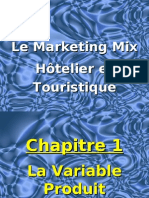 Le Marketing Mix Hôtelier et Touristique