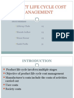 Product Life Cycle Cost Management(Final)