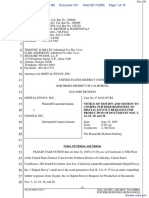 Digital Envoy Inc., v. Google Inc., - Document No. 161