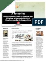 Deslinde_ Se Profundiza La Problemática en La GERESAT Anzoátegui, Sucre y Nueva