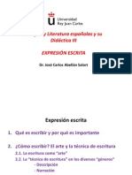 Presentacion Ppt. TEMA -Expresion Escrita