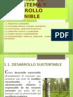 Nociones de Ecosistema y Desarrollo Sostenible