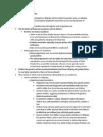 Preparation Notes for Final Exam (Evolutionary Psychology)