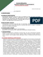 Contéudo Bibliográfico CONAB 2014