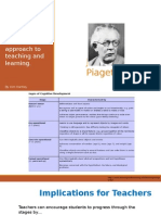 Presentation on Piaget and Constructivism