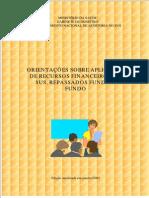 Orientacoes Sobre Aplicacao de Recursos Financeiros Sus