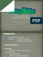 Sss - k43 (Infeksi Pada Faring 2 - Tonsilitis)
