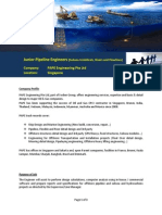 PAPE Advertisement Junior Pipeline Engineers