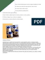 Artesanía y Comidas Del Tachira
