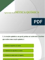 Quiz Cinética Quìmica
