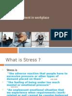 Managing Stress Presentation