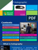 Microsoft Holo Lens