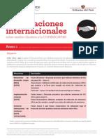 Negociaciones internacionales y cambio climático Anexo