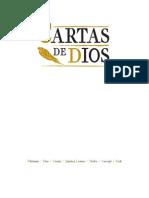 CARTAS DE DIOS - GONZALO MARTÍN-CALERO