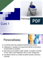 Psihologia Personalitatii _cadru Conceptual_curs 1