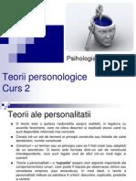 Psihologia Personalitatii _Teorii Personologice_curs 2