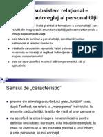 Psihologia Personalitatii Caracterul