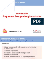 Svat_01 Introducción Programa de Emergencias y Resucitación