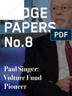 Hedge Clippers - Paul Singer - Vulture Fund Pioneer