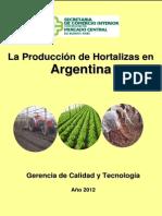 La Produccion de Hortalizas en Argentina