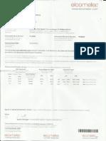 Certificado Calibración - Medidor Espesor Pintura Mod. Elc