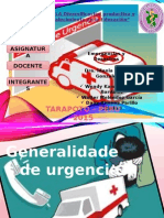 1. Generalidades de Urgencia