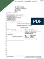 Digital Envoy Inc., v. Google Inc., - Document No. 218