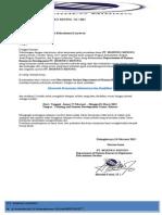 Surat Panggilan Kerja Pt.borneo Mining